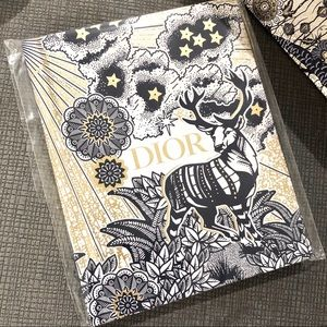 Rare Authentic Dior Holiday Small Notebook
